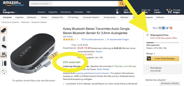 Black Friday Deutschland Amazon 3